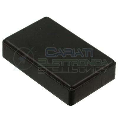 10 pezzi Contenitore 90x56x23 mm - custodia per elettronica ABS nero