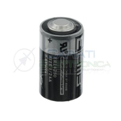 LS14250 ER14250 Battery 3,6V Lithium 1/2 AA 1200mAh Li-SoCl2EEmb Battery