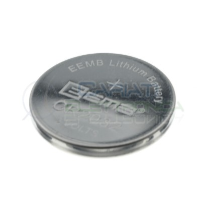 2 Pcs CR2032 3V 210mAh Button Battery Coin Cell LithiumEEmb Battery