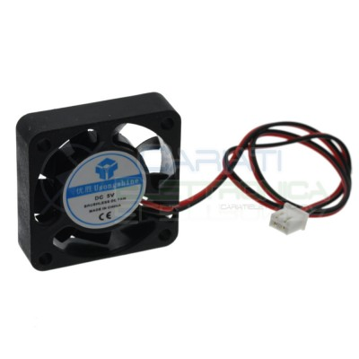 Cooling Fan 5V 40x40x10mm Heating System 3D Printer Pc Electronic system