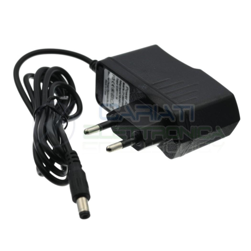 Alimentatore 12,6V 1A Per 3 Batterie 18650 PaccoBatterie Caricatore con connettore Dc 2,1/5,5 Generico