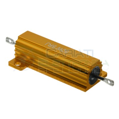 Power resistor 8 ohm 50W High load wire wound 50Watt 8ohmGenerico