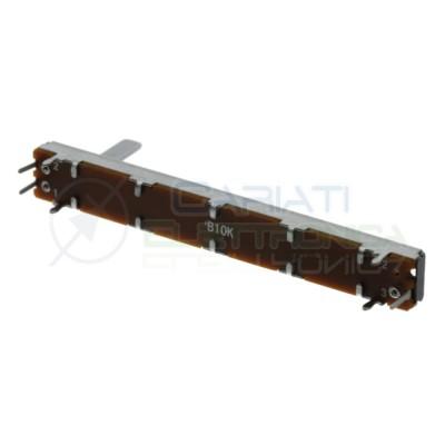 Potenziometro a slitta 10K mono lineare 75mm 10kohm B10K slide Mixer Audio Cosocomi