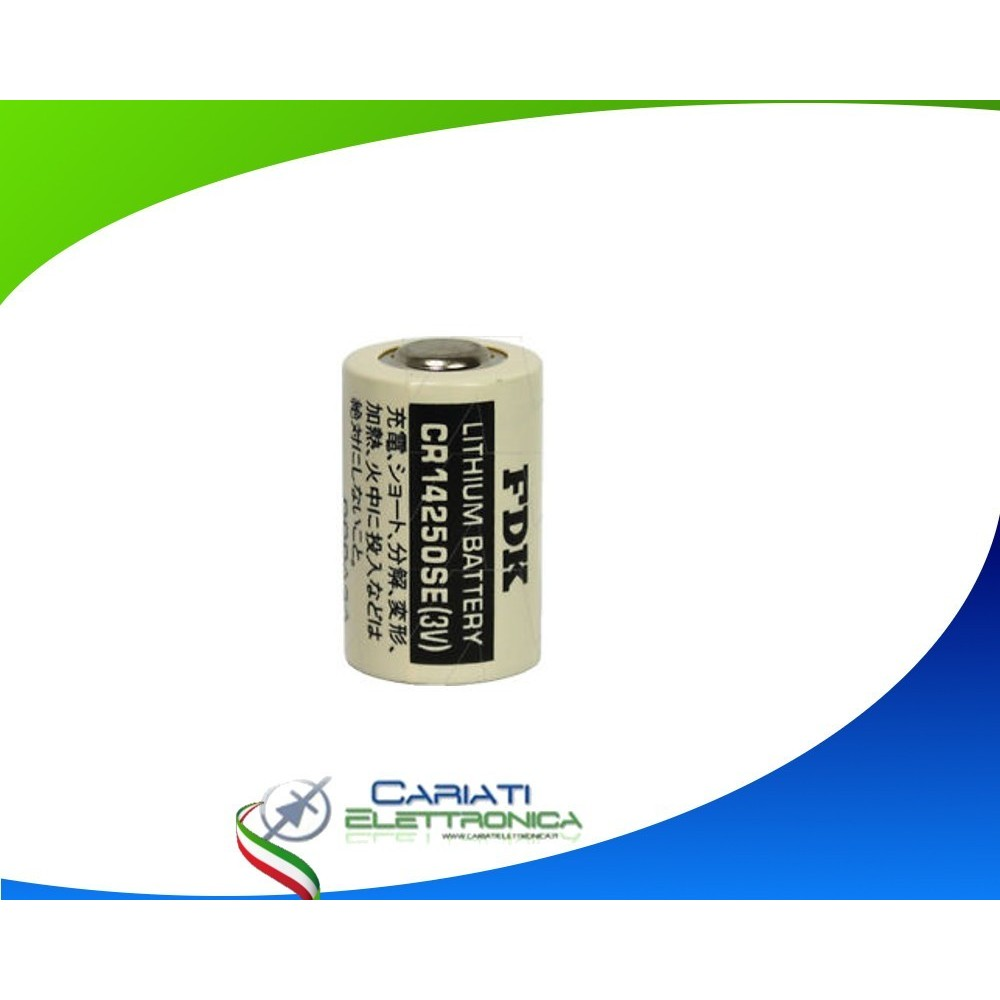 PILA BATTERIA CR14250SE 3V CR 1/2AA LITIO 850 mAh  6,09 €