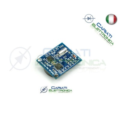 Shield Ds1307 Ds 1307 Rtc real time clock con memoria I2C per Arduino pic