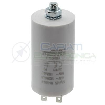 Condensatore per motori 12uF 450V Capacitore Motore Pompa Elettropompa
