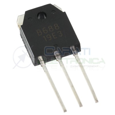 2SB688 B688 Transistor Pnp 120V 8A 80W Audio Power Amplifier Dc Dc