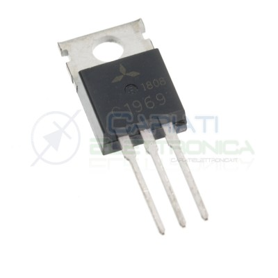 2SC1969 C1969 Power Transistor TO-220 RF Generico