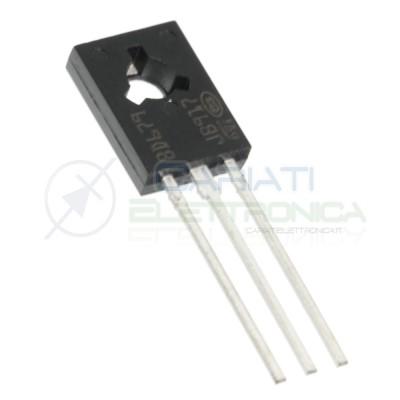 2 pezzi BD679 NPN DARLINGTON 80V 4A 40W SOT32 ST MICROELECTRONICS