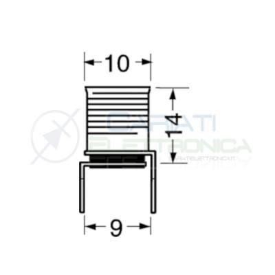 2 Pezzi Portalampada E10 in metallo con passo pin 9mm