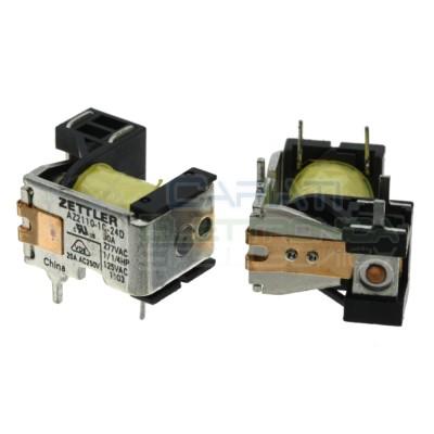 Relè AZ2110-1C-24D Bobina 24V Spdt 20A 30Vdc 250Vac 5 pin ZETTLER Zettler