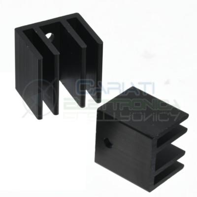 Dissipatore 24x20x25 mm Aletta di Raffreddamento in Alluminio mm TO3