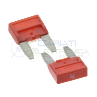 5 Pcs Blade Fuse 4A 32V fast 11,9mm for car camperMta