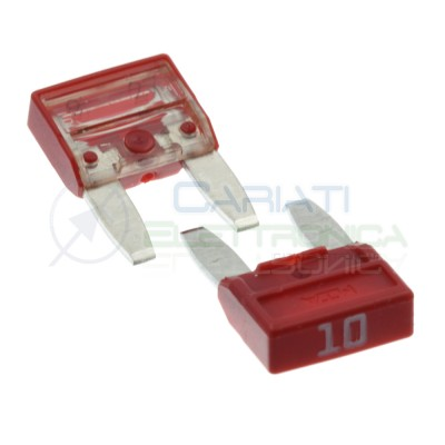 5 Pcs Blade Fuse 10A 32V fast 11,9mm for car camperMta