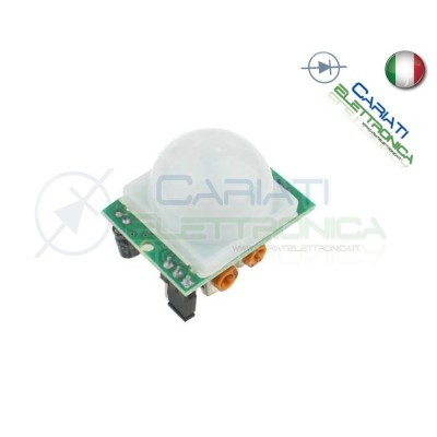 PIR sensore infrarosso movimento Compatibile con pic arduino shield 2,49 €