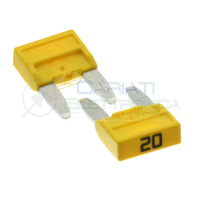 5 Pcs Blade Fuse 20A 32V fast 11,9mm for car camperMta