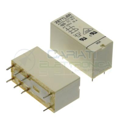 Relè AZ764-1CH-18D Bobina 18V SPDT 16A 30Vdc 16A 250Vac 8 pin Zettler