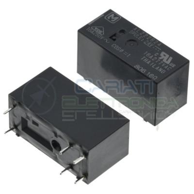 Relè ALZ22B24 Bobina 24V SPDT 16A 30Vdc 16A 250Vac 6 pin Panasonic