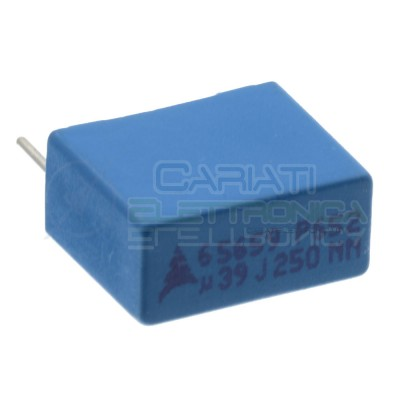 5 Pcs Capacitor 39nF 250V in polypropylene P652 Pitch pin 10mm 20%EPCOS