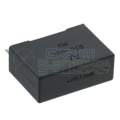 5 Pezzi Condensatore 15nF 2000Vdc in Poliestere R76 MKP M9 Passo 22,5mm 5%