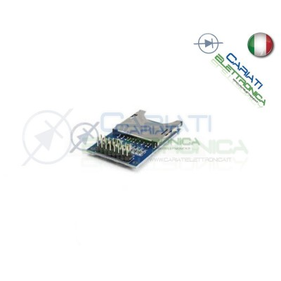 Lettore SD card reader shield writer compatibile con arduino pic  2,99 €