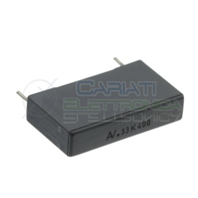 Capacitor 330nF 400V R60 in polyester Pitch pin 22,5mm 10%Kemet