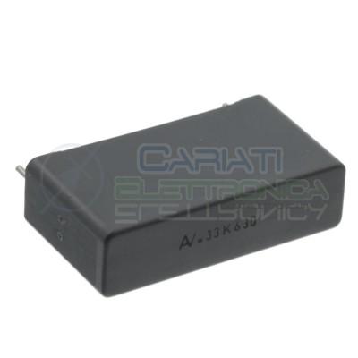 Condensatore 330nF 630V R60 in Poliestere Passo 27,5mm 10% Kemet