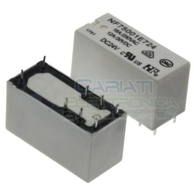 Relè NF75001E724 Bobina 24V SPDT 12A 30Vdc 16A 250Vac 8 pin NF Forward
