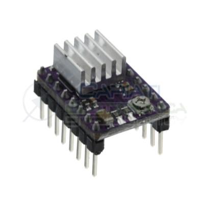 Scheda driver DRV8825 1 asse per motori passo passo stepper cnc arduino pic