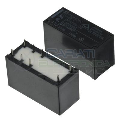 Relay FTR-F1CA024V Voltage coil 24V DPDT 5A 24Vdc 5A 250Vac 8 pinFujitsu