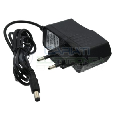 Power supply adapter 8,4V 1A for 2 x Battery 18650 with connector Dc 2,1/5,5Generico