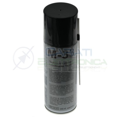 M33 M-33 Spray Technical Lubricant 200ml for potentiometer Due-CiDue-Ci