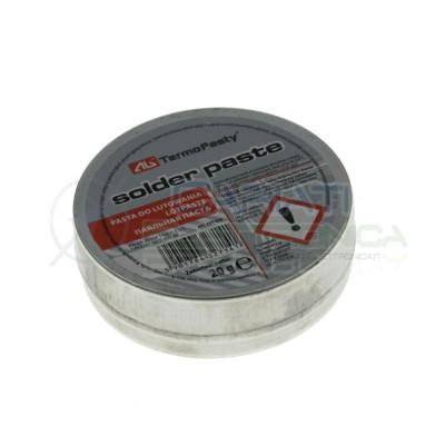 Pasta saldante salda 20g per saldatura punte saldatore stagnoAgThermopasty