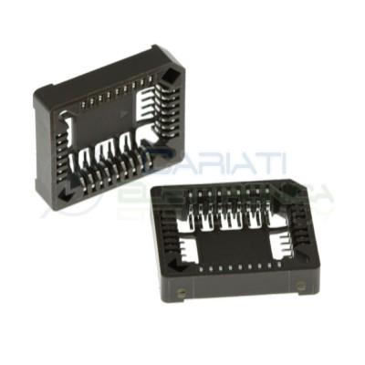 Zoccolo Adattatore 32 Pin per circuiti integrati Plcc Smd in Tht Dil Dip Auk
