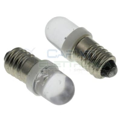 Led lamp E10 6V 9V 12V cool white