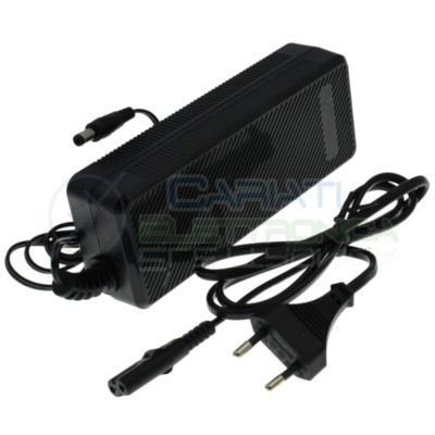Power supply 48V 2A Connector out 5,5x2,5mm Tvcc BatteyElcart