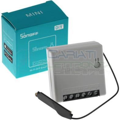Sonoff mini diy Interruttore Deviatore Wifi 2 vie Domotica Alexa Google 220V 10A Sonoff
