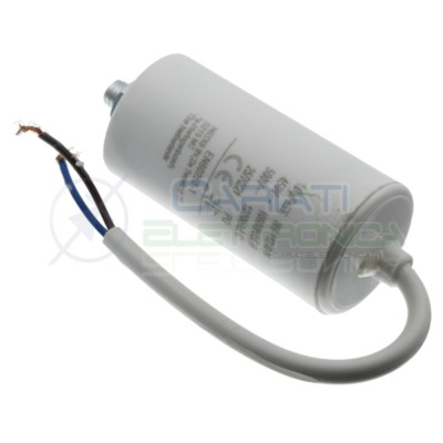 Start Capacitor for Motor AC 40uF 450V with cable Electric Motor Pump ectMiflex