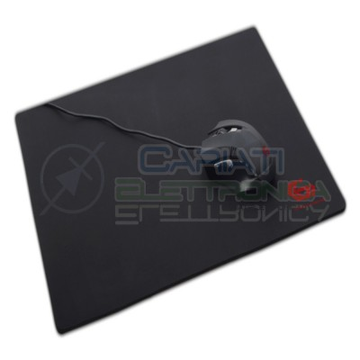 Tappetino Mouse Pc mousepad gaming Nero 200x250mm Gembird
