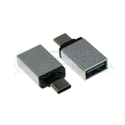 Adapter converter USB A Female to USB C MaleGenerico
