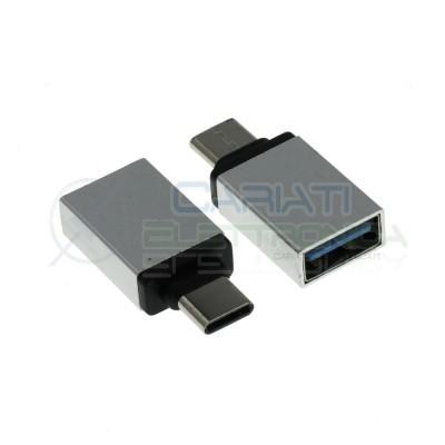 Adapter converter USB A Female to USB C MaleGenerico