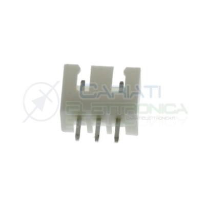 10 Connettori Socket 3 poli JST XH passo 2.5mm Generico