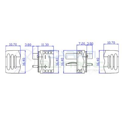 Connettore Deans T Plug Am1015 Xt1015 Maschio Femmina per RC LiPo ESC Batteria Generico