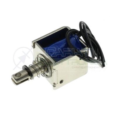 Elettromagnete 12V DC solenoide JF-0826B push-pull con ritorno a molla Generico