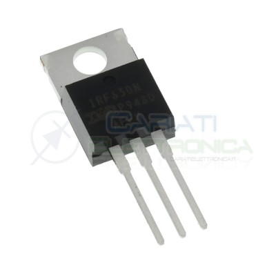 2 Pezzi IRF630N IR Transistor N-MOSFET HEXFET 200V 9,5A 82W TO220 Infineon