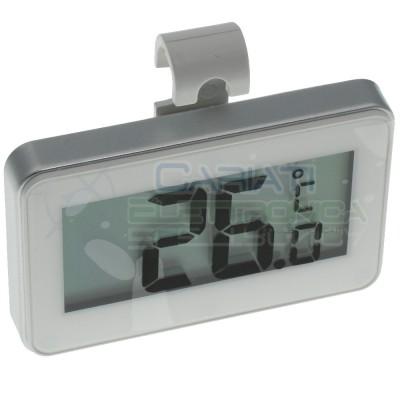 Termometro Digitale per Frigo Frigorifero a batteria Temperatura -20°C +50°C Nedis