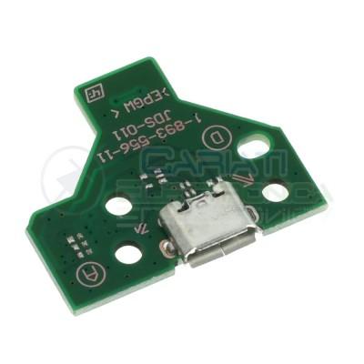 JDS-011 Porta Micro usb Joypad PS4 Dualshock con Cavo Flat Connettore scheda controller pcb 12 pinGenerico