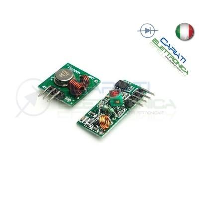 2 Moduli RF 433 Mhz Trasmettitore Ricevitore Arduino Pic  2,00€