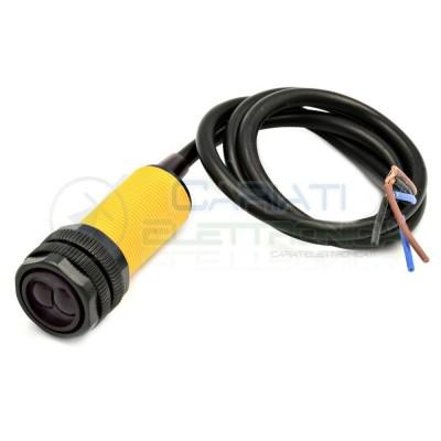 E18-D80NK Sensore Infrarossi fotocellula 5V 12V 24V dc Pnp Arduino Ostacoli IR Infrarosso Generico