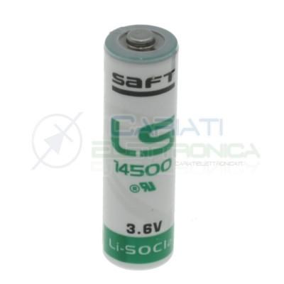 BATTERIA STILO PILA AA LITIO SAFT LS14500 3,6V 2600mAh ALLARMESaft Battery